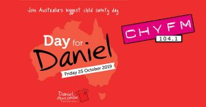 Day for Daniel Poster from CHYFM