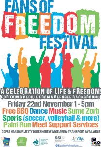 Fans of Freedom Festival Poster